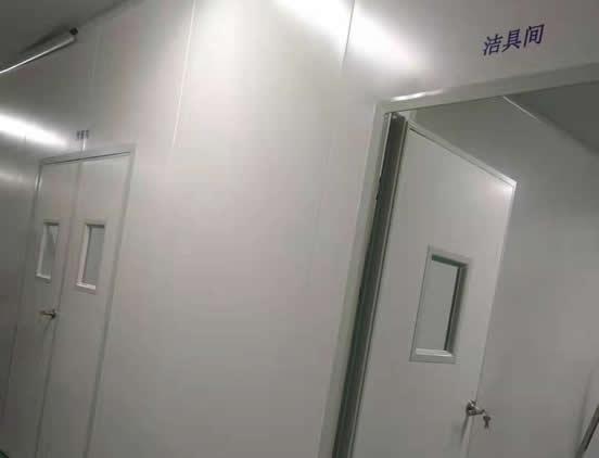 青島諾安百特生物制藥廠淨化工程